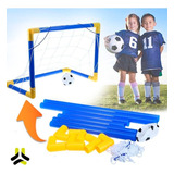 Arco Mini Futbol Para Niños Desarmables Resistente + Pelota