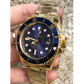 9771b603a1e Relogio Masculino Dourado Rolex - Relógios De Pulso no Mercado Livre ...