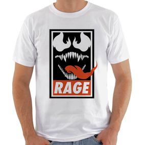 Venom Rage Obey Estilo Camisas Masculina Blusas Femininas 104d6db6a5b