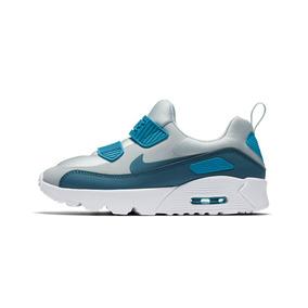 big sale 16bab ddaab Zapatillas Nike Air Max 90 Celeste Niños