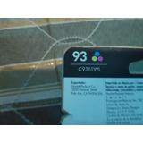 Cabezal Cartucho De Tinta C9361wl Hp Tricolor Número 93