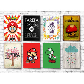 20 Placa Decorativas Pvc 13x20 Farses Games - Frete Gratis