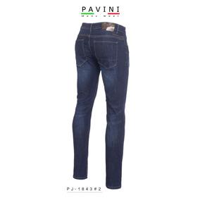Pantalon Caballero Mezclilla Marca Pavini Pj1843 Azul Oscuro d75427c417d54