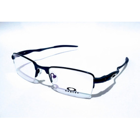 6c88516e84b13 Oculos Oakley De Metal Grau - Óculos Azul no Mercado Livre Brasil