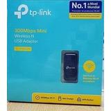 Adaptador Mini Usb Wireless N Tl-wn823n 300mbps Tp-link