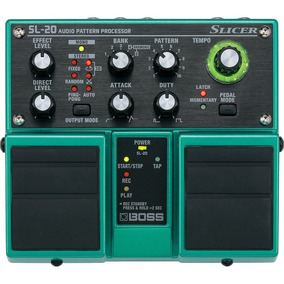 Pedal Guitarra Slicer Sl20 Boss