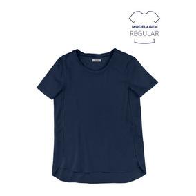 889bc507966a2 Blusa Hering Floral Em Tecido - Camisetas e Blusas para Feminino no ...