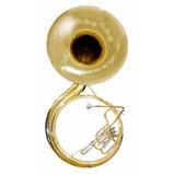 Tuba Sousafon Laqueada 26 Pabellon Mod: Slss001 Silvertone