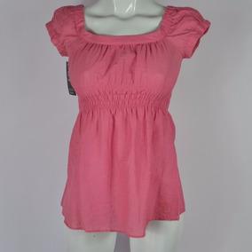 Zara Basic Blusa Hombros Descubiertos Rosa Xs Msrp $450