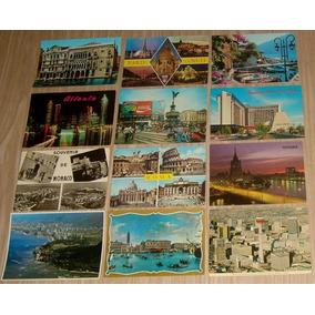 Brasil E Exterior - Lote 150 Cartões Postais E Outros