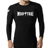 Camisa Compressão Muay Thai Treino Rashguards