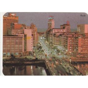 Calendário Bolso 1970 - Imagem Cidade De Recife - Pe - Aj11