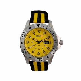 Reloj Analógico Steiner Correa Nylon St22433d