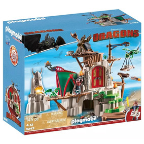Playmobil - Como Treinar Seu Dragão - Castelo De Berk - 9243