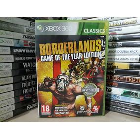 Jogo De Tiro Borderlands Xbox 360 Original Mídia Pal E Ntsc