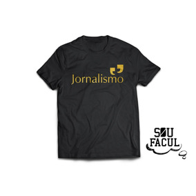 Cordão Jornalismo - Camisetas Manga Curta para Masculino no Mercado ... 18f29d335930d