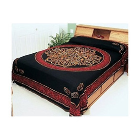 Hippieindian Tapestrywallbedspreadtablecloth Cotton Celtic C