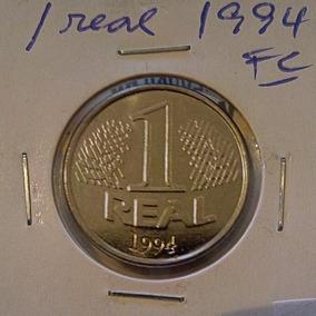 Moeda 1 Real 1994 ** Fc - Flor De De Cunho