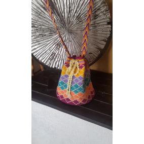 Mochila Wayuu Tejida A Mano