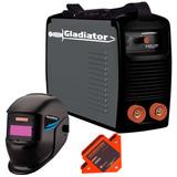 Soldadora Inverter Gladiator 140 Amp + Mascara + Escuadra