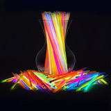 Glow Sticks Bulk 300 Count - 8 Partysticks Brand Glow In Th