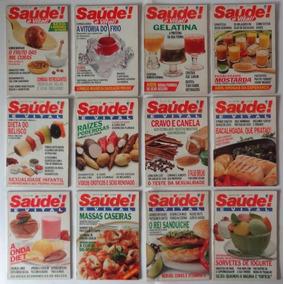 Revistas Antigas Saúde Ano Completo De 1990 - Frete Grátis