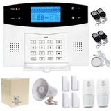 C20 Alarma Casa Wifi+telefono+celular Gsm Corneta Negocio