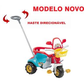 Motoca Zoom Infantil Triciclo Haste Direcionável Magic Nova