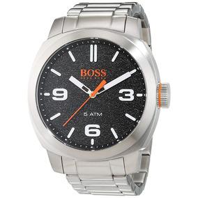 3d88177131b Relógio Hugo Boss Hb 1512985 46mm Stainless Steel Masculino ...