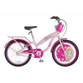 Bicicleta Bianchi Barbie Aro 20 Color Rosado