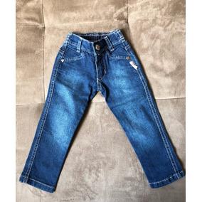 Calça Jeans Infantil Menina Blz Girls - Tam 1