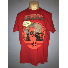 Playera Deadpool Marvel Hottopic