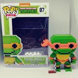Figura Coleccionable Funko Pop Tortugas Ninja Michelangelo