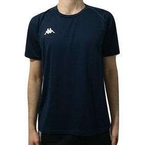 d7c016f65af40 Camiseta Kappa Masculina Marinho