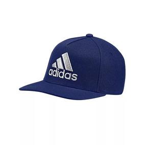 Gorra adidas Visera Plana Flat Cap Logo Original 100% e8430badad4