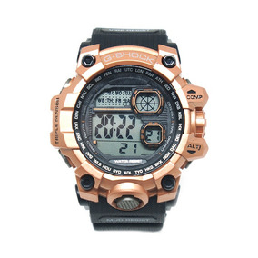 Relógio Digital Casio G-shock Preto E Bronze