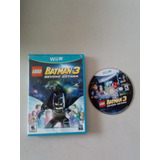 Video Juego Lego Batman 3 Para Nintendo Wii U