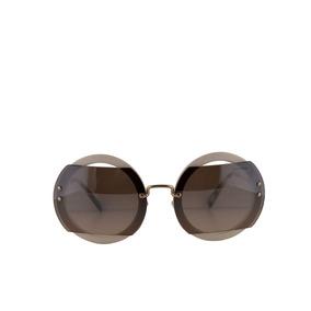 Óculos Miu Miu Smu01p Rasoir Sunglasses Shiny Blac - Óculos no ... b006174f08