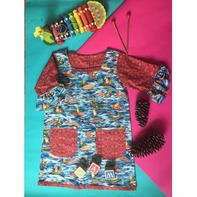 Vestido Charco De Ranas Terracota 4-5 Años