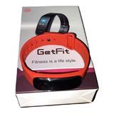 Relógio Inteligente Getfit 3.0 X10 Pro Preto Vermelho Azul