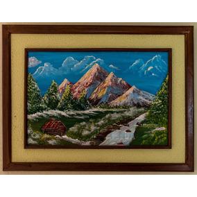 Cuadro, Pintura Acrílica, Paisaje 83x63cm