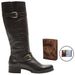 fde0e25986 Francalce Bota Montaria Confort 2416 Feminino - Sapatos no Mercado ...
