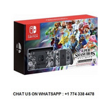 Nintendo Switch Super Smash Bros Ultimate Limited (2 Juegos)
