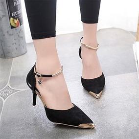 Zapatos Mujer Plataformas Tapadas Negros - Zapatos para Mujer en ... 7cce4584c324
