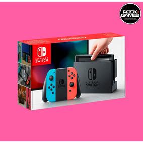 Nintendo Switch Gray Ou Neon Sem Jogo - Sem Juros