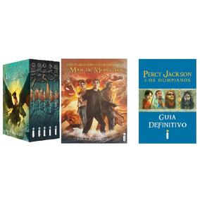 Percy Jackson Box + Guia + Mar De Monstros + Frete Grátis