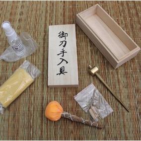 Kit Limpeza Espada Katana Ninja Samurai Aço - Leia O Anúncio