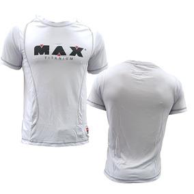 Camiseta Branca - Max Titanium - Max Clothing 4ec9873bf6780