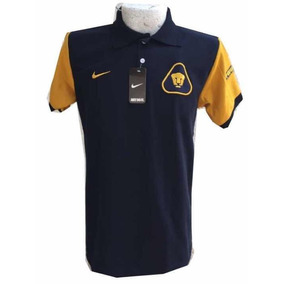 Playera Tipo Polo Pumas Futbol Talla Xl 1f89ae178821a