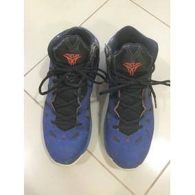 Tênis Nike Jordan Advance Cano Alto Comprei Em Nyc Azul 42 412c88ce741